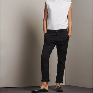 AG the Caden black tailored trousers